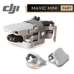 Image 1 - DJI Mavic Mini uchwyt śmigła do DJI Mavic Mini Drone można przymocować do plecaka lub paska DJI oryginalne akcesoria ochronne