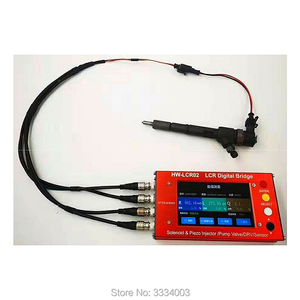 Image 5 - AM  LCR02 common rail diesel fuel electromagnetic injectors test EUI/EUP ZME DRV valves injector LCR tester