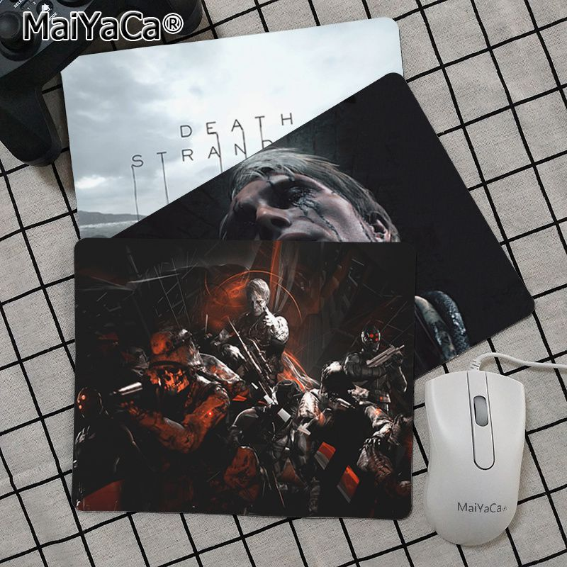 Maiya Top Quality Death Stranding Durable Rubber Mouse Mat Pad Top Selling Wholesale Gaming Pad Mouse