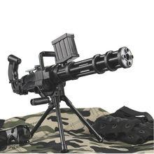 Новая ручная серия, водный игровой пистолет гатлинг, мягкая игрушка, игрушечный пистолет, имитационная модель, Детская игра на открытом воздухе, игрушки для живого действия CS