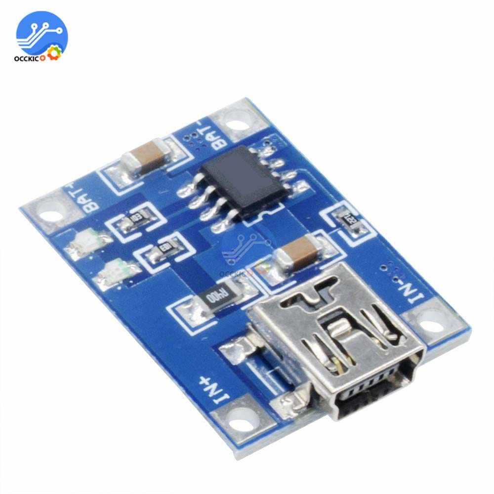 5 шт. BMS 5V 1A 18650 литиевая батарея зарядное устройство мини/Micro USB TYPE-C зарядка с функциями защиты