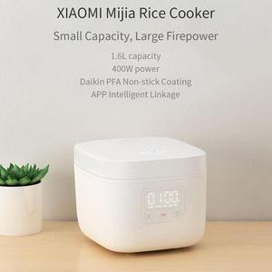 Image 2 - Xiao mi kuchenka do gotowania ryżu Non Stick 1.6L 400W elektryczne urządzenie do gotowania ryżu mi domu App sterowania inteligentny urządzenie do gotowania mała kuchenka ryżu przenośny