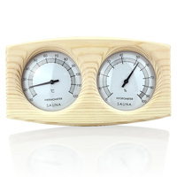 Case Steam Sauna Room Thermometer Hygrometer Bath And Sauna Indoor Outdoor Used