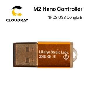 Image 4 - Cloudray LIHUIYU M2 ננו לייזר בקר ראשי אם לוח + לוח בקרה + Dongle B מערכת חרט קאטר DIY 3020 3040 K40