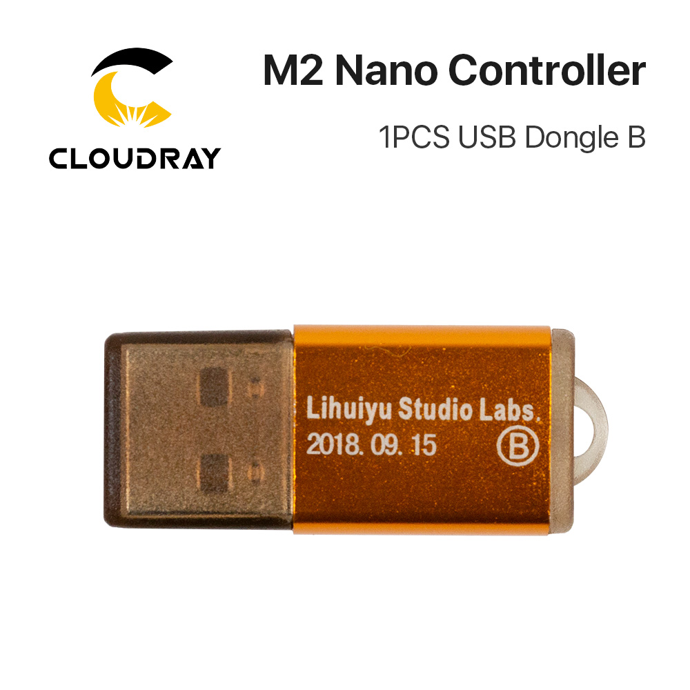 Image 4 - Cloudray LIHUIYU M2 Nano Laser Controller Mother Main Board + Control Panel + Dongle B System Engraver Cutter DIY 3020 3040 K40-in CNC Controller from Tools