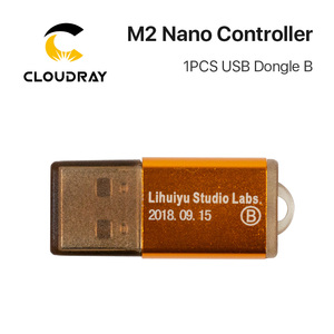 Image 4 - Cloudray controlador láser Nano LIHUIYU M2, Tablero Principal madre + Panel de Control + sistema Dongle B, cortador de grabado DIY 3020 3040 K40