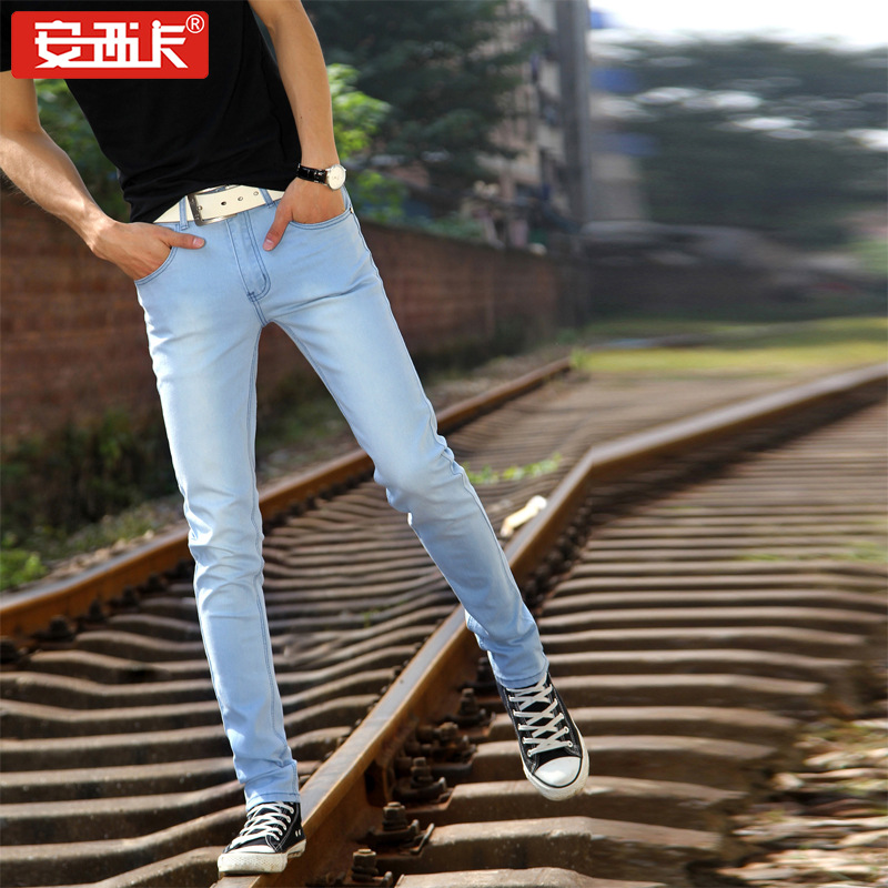 New Style Men'S Wear Jeans Women's Fashion Man Hot Selling MEN'S Jeans Slim Fit Trousers 801