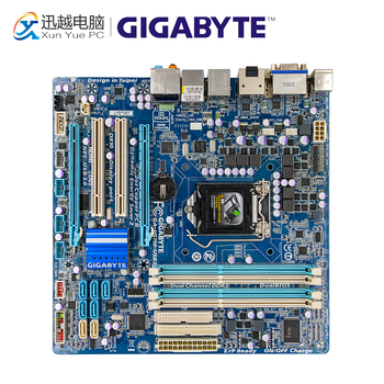 Gigabyte GA-H57M-USB3 Desktop Moederbord H57M-USB3 H55 LGA 1156 Voor Core I7 I5 I3 DDR3 16G Micro-ATX Originele Gebruikt Moederbord