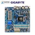 Tarjeta madre de escritorio Gigabyte GA H57M USB3 H57M USB3 H55 LGA 1156 para Core i7 i5 i3 DDR3 16G Micro ATX Original usado placa base|Placas base| |  -