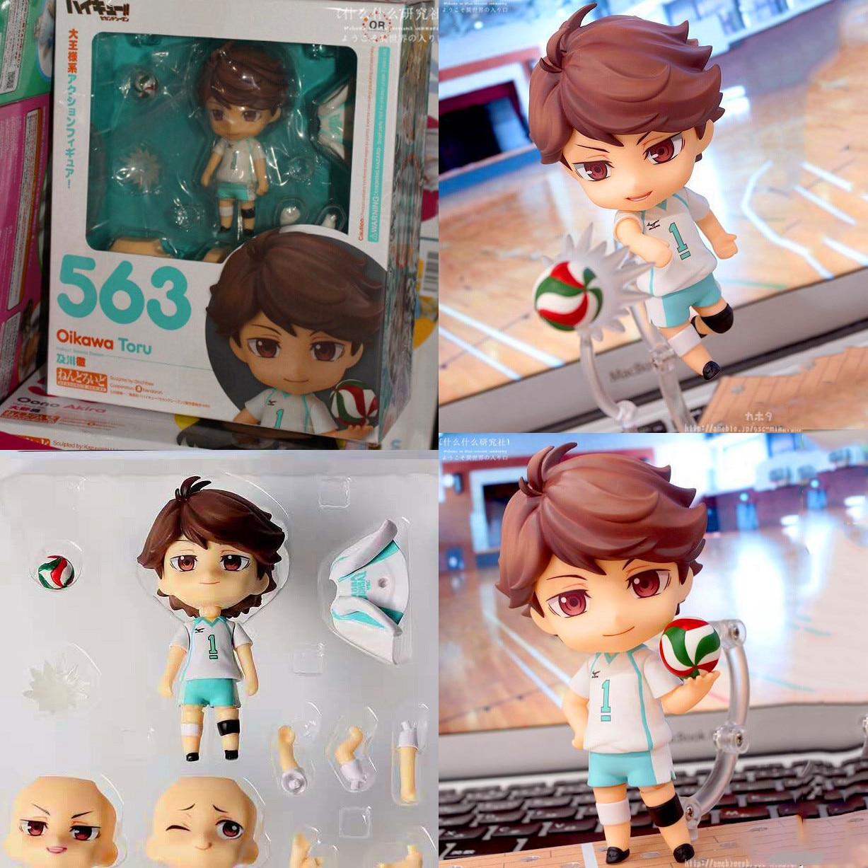 Haikyuu!! GSC 563# Oikawa Tooru Face Changing Clay Doll Haikyuu Oikawa Toru Figurine Collectible Toys For Children Birthday Gift
