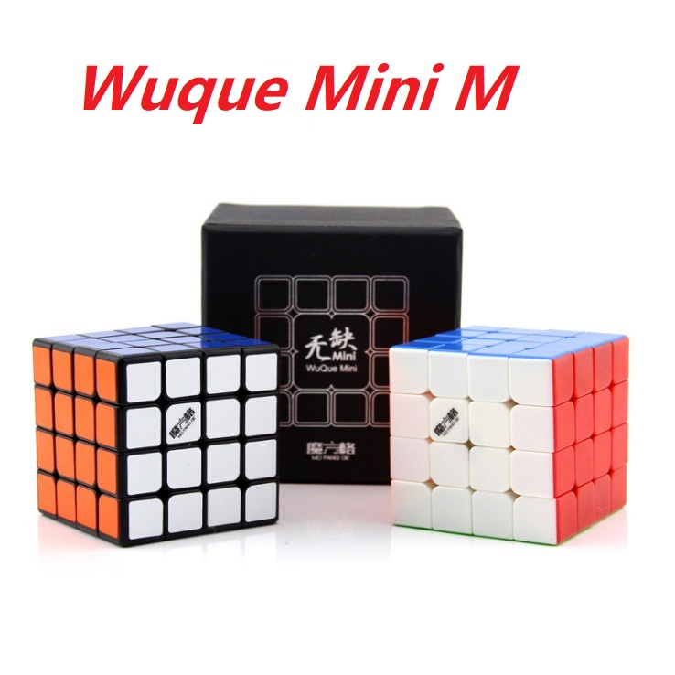 Qiyi Wuque Mini 4x4x4 Magnetic Magic Cube 6cm Mini M Wuque 4x4 Puzzle Magico Cubo Puzzle Toy Mofangge With Magnets Professional