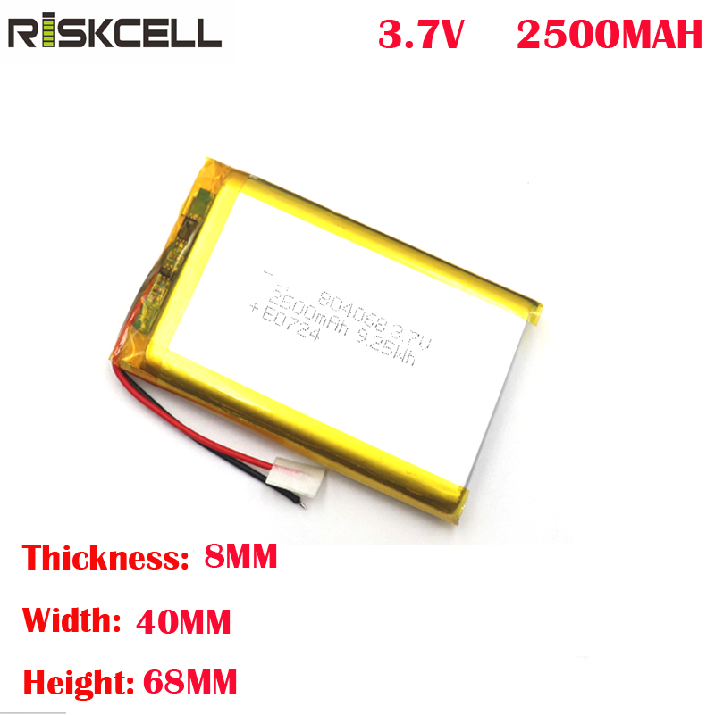 804068 3000mah <font><b>lipo</b></font> <font><b>battery</b></font> <font><b>3.7v</b></font> for mobile phones image