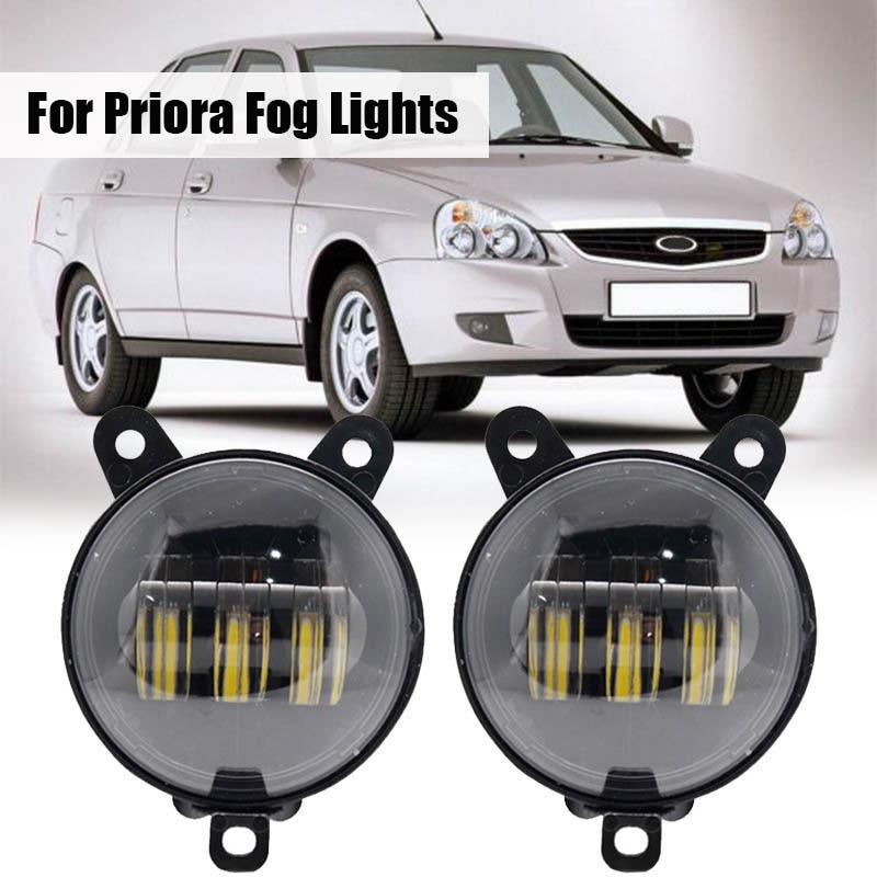 3 5 polegada luzes de nevoeiro da frente do carro 30w 6000k a prova dwaterproof agua