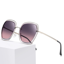 JULI Polarized Oversized Sunglasses for Women Luxury Brand Shield