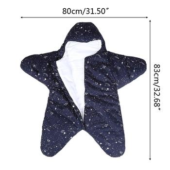 Uniwersalny wózek Footmuff Babys zimowy śpiwór rozgwiazda przewijać koc U7EE tanie i dobre opinie Unisex W wieku 0-6m 7-12m 13-24m CN (pochodzenie) Patchwork COTTON