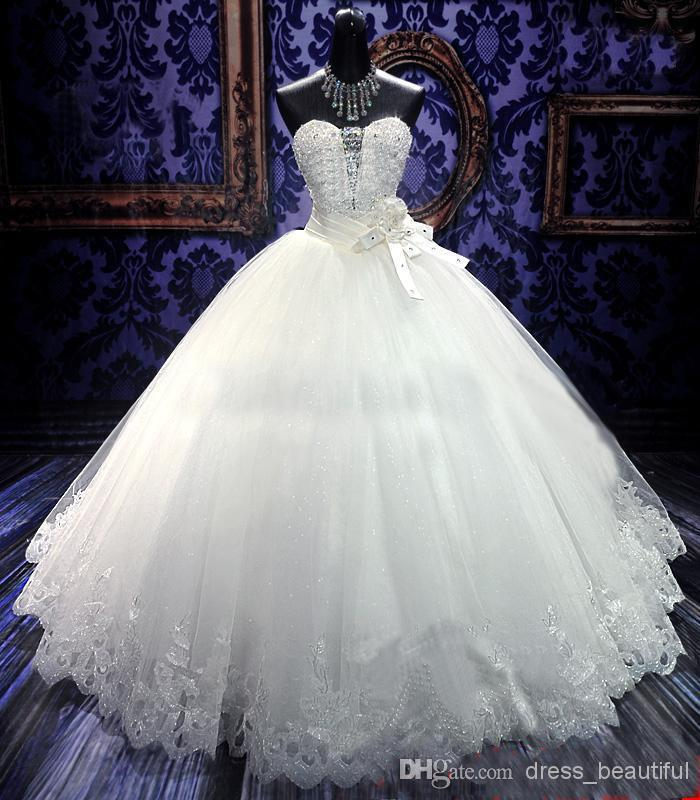 Casamento Luxury Crystal Bandage Dress Vestido De Noiva 2016 Fashionable Sweetheart Sexy Wedding Dress Bridal Gown Free Shipping