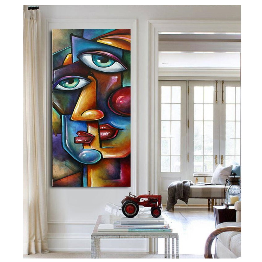 abstract girl face Diamond mosaic full drill square round diamond 5d diy Diamond Painting Cross Stitch Diamond Embroidery woman-0