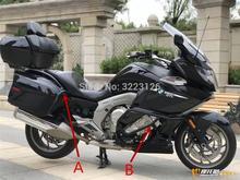 Autobahn Motor Schutz Crash Schutz Bar Seite Box Schutz Rahmen Stoßstange Für BMW K1600GTL K 1600GTL K1600 GTL GT 2011 2018 A + B