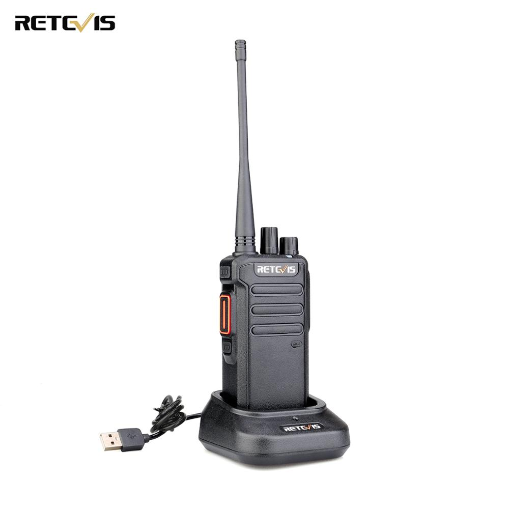 DMR Digital Walkie Talkie 5W Retevis RT43 UHF 400-480 MHz 32CH Radio Communicador USB Charger Two-way Radio Digital/Analog Radio