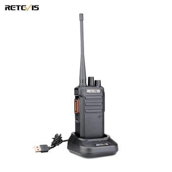 DMR Digital Walkie Talkie 5W Retevis RT43 UHF 400-480 MHz 32CH Radio Communicador USB Charger Two-way Radio Digital/Analog Radio