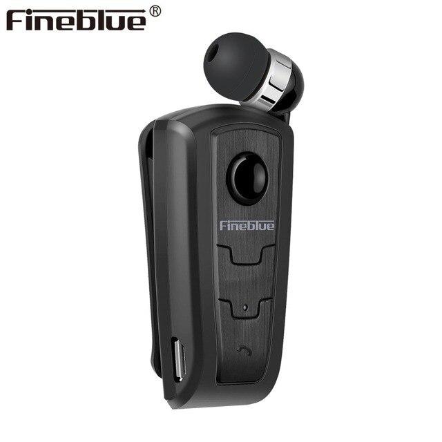 FineBlue F910 미니 무선 드라이버 블루투스 헤드셋 통화 진동 착용 클립 스포츠 러닝 이어폰 Auriculares