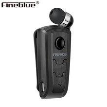 Fineblue F910 Mini Draadloze Driver Bluetooth Headset Gesprekken Herinneren Trillingen Dragen Clip Sport Running Oortelefoon Auriculares