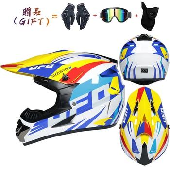 Motor Bike Cross Racing Motorcycle Helmet Safety Enduro Capacete Motorrad Cascos Downhill Bicycle Engine Cafe Racer ATV Helmets 14