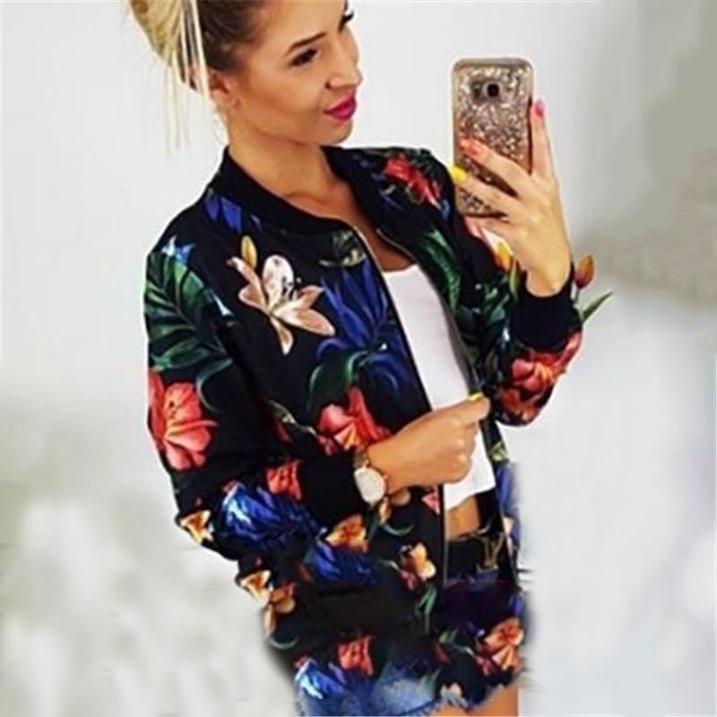 H211539b67c004d339ef5b3494dc4d85dC Woman Coat Plus Size Printed Bomber Jacket 2020 Women Pockets Zipper Long Sleeve Coat Female Flower Chiffon White Jacket Woman