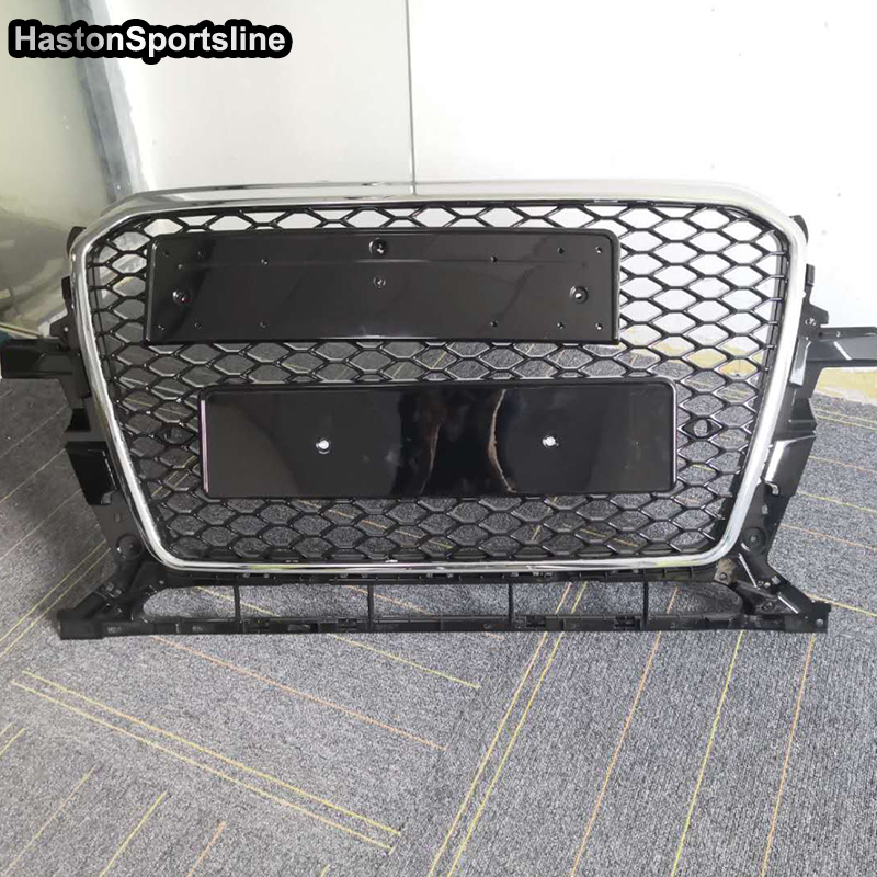Q5 RSQ5 Style Auto Car Exterior Parts Front Racing Grill Grille for Audi Q5 SQ5 RSQ5 2013-2015