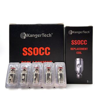 Vmiss SSOCC 0 2 0 5 1 5 Ohm Kangertech cewka zastępcza głowica dla Kanger Subtank Mini Toptank Nebox zbiornik Sub Ohm Atomizer tanie i dobre opinie kangertech toptank mini DS Dual