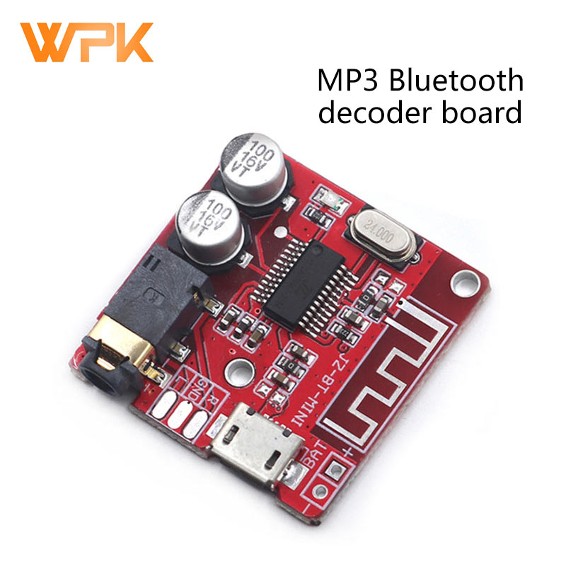 MP3 Bluetooth Decoder Board Lossless Car Speaker Audio Amplifier Board Circuit Board Modification Diy Audio Receiver Module 4.1