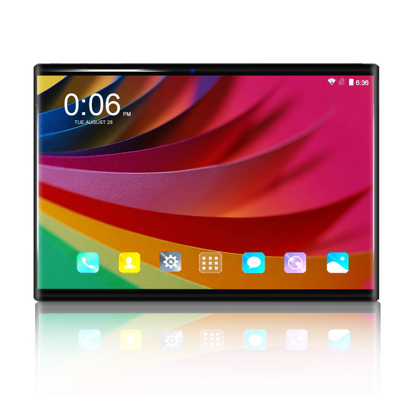 2020 Super 2.5D Glass 6G+128GB Tablet Pc Google Play 10.1 Inch Android 8.0 Octa Core 4g Smartphone Android 8.0 GPS WIFI Tablets