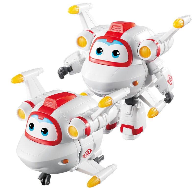 Большой! 15 см ABS Супер Крылья деформация самолет робот фигурки Супер крыло Трансформация игрушки для детей подарок Brinquedos - Цвет: No Box Astro