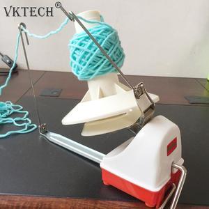 Прядильная машина, ручная шерстяная намотка-держатель, шариковый Койлер для пряжи, волоконная машина, шерстяная намотка, машинное шитье, ак...