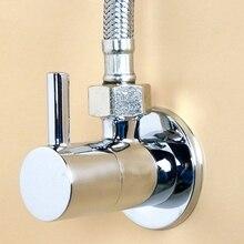 Faucet Toilet-Valve-Control Kitchen-Accessories Diverter Brass Chrome-Plated Solid