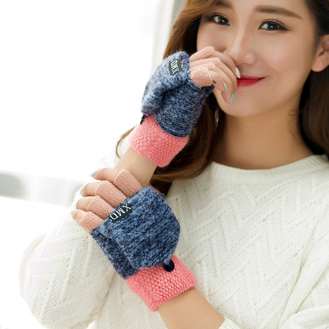 Cute Half Finger Gloves 4