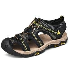Summer Beach Shoes Sandals Wading Anti Skid Hiking Women Light Breathable Soft Sole Large Size 47 Men Trekking