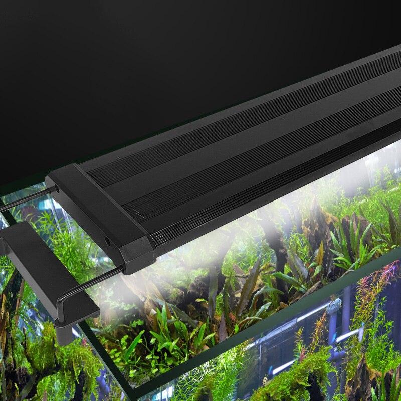 Gako, luz LED para acuario, luz acuática de colores con soportes extensibles, lámpara para acuario, planta, cultivo, iluminación decro 2 uds. Bombilla de repuesto T5 tubos de luz LED G5 DC12V 6w 430mm 450mm 480mm 1ft tubo fluorescente de conductor incorporado