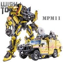 Transformação obra-prima JH-01 catraca ko mpm11 filme série MPM-11 melhor pintura figura de ação coleção brinquedos