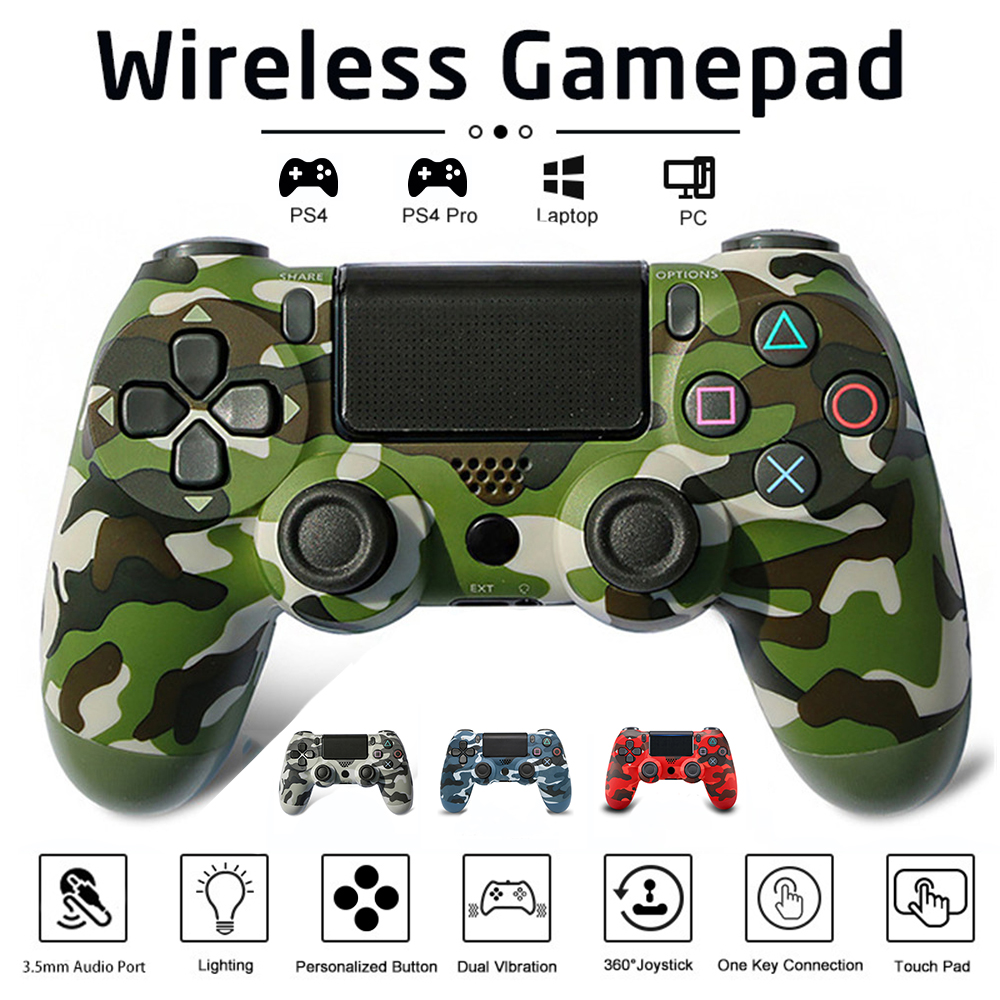 Joystick PS4 Wireless FOR Sony Bluetooth Controller PlayStation 4 Pro/Slim/PC/iPad/Tablet/Steam/DualShock 4 Gamepsd
