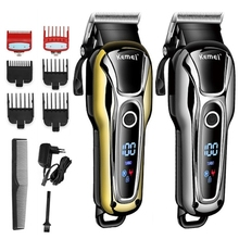 Hair-Clipper Electric-Hair-Cutting-Machine Beard-Trimer Professional Barber Cordless