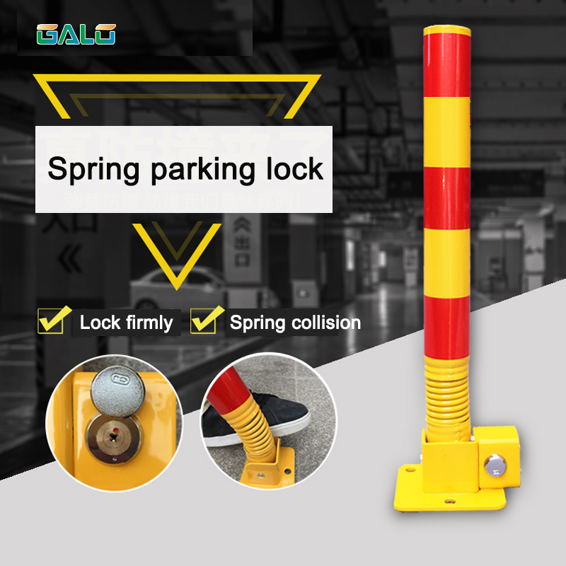 Spring Parking Lock 650mm high car lock place car locker vehicle lock truck stop place system