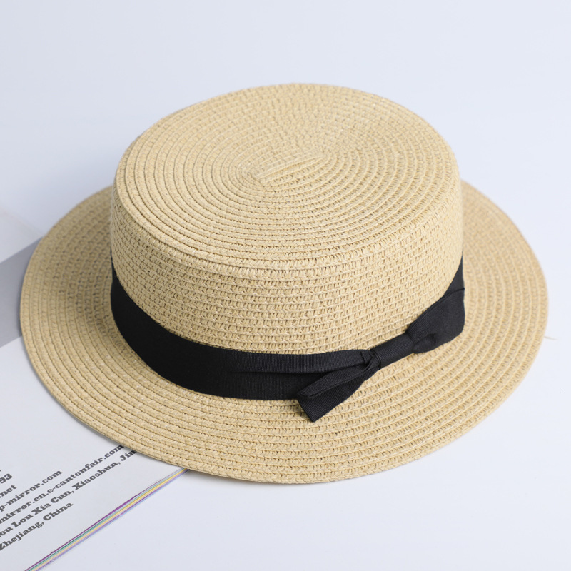 Simple Summer Casual Beach Hat Female 17