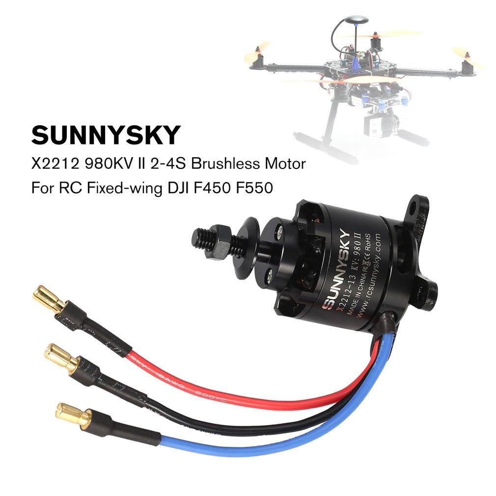 SUNNYSKY X2212 980KV II 2-4S Brushless Motor for RC Fixed-wing DJI F450 F550 H