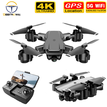 цена на 2020 NEW Dron GPS RC Drone 1080p/4K HD Camera Quadcopter WIFI FPV With 50 Times Zoom Foldable Helicopter Professional Drone TOYS