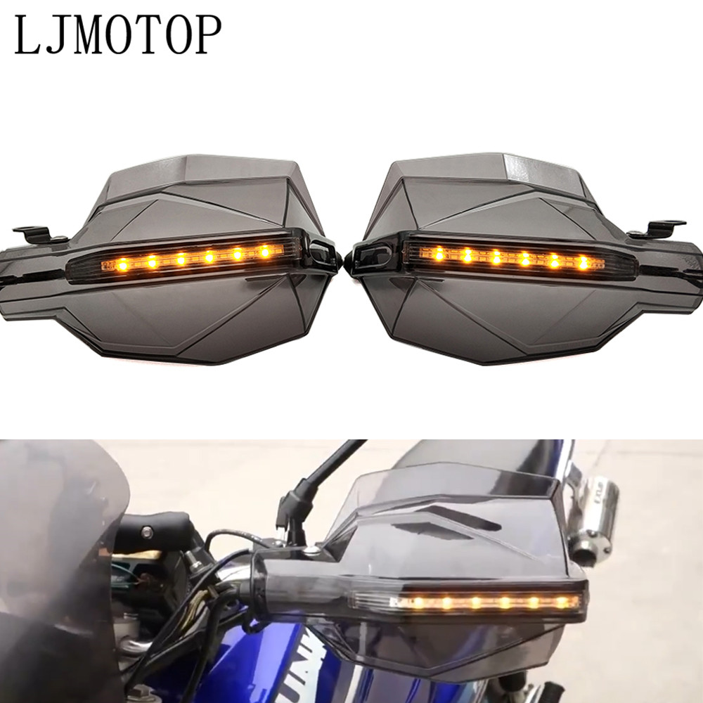 Motorcycle Hand Guard Handle Protector HandGuards with LED Signal Light For DUCATI DIAVEL /CARBON M1100/S/EVO MONSTER