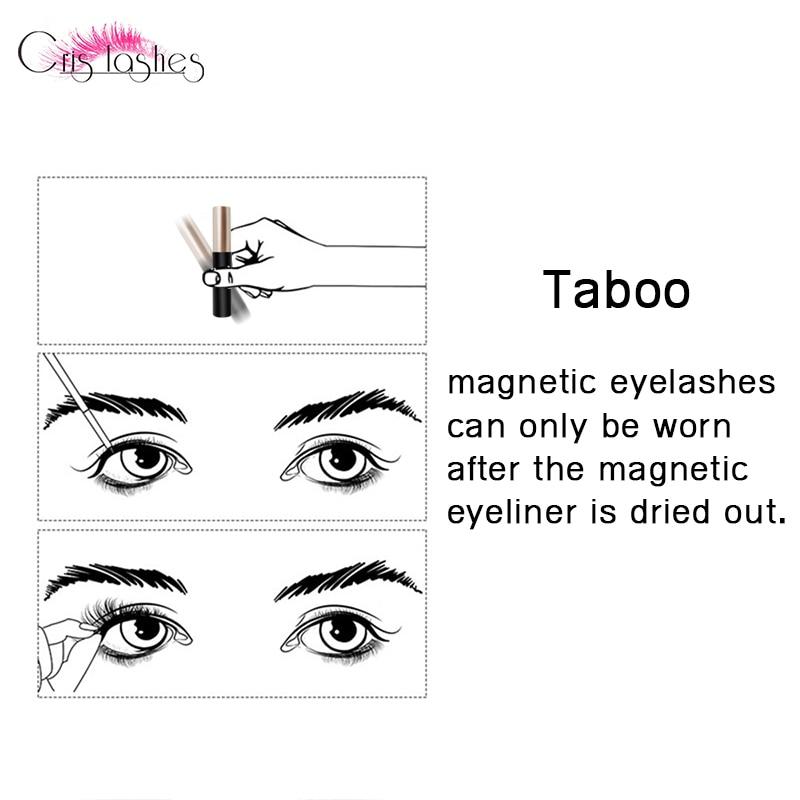 Magnet eyelash set (14)