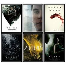 Alien Prometheus Movie Poster Vintage Poster Wall Stickers For Home Bar Cafe 42X30cm худи print bar ом alien