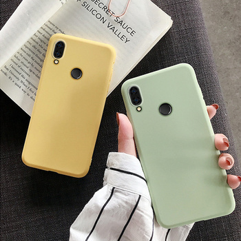 Belle étui en TPU mignon pour Xiaomi Redmi Note 7 8T 8 9 Pro 9S 7A 9A 8A 4X 6A 6 5 Plus 4A 5A 4 couleur bonbon housse en Silicone souple 2