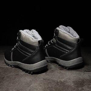 Image 4 - 39 48 שלג מגפי נוח חם החלקה 2019 חורף גברים נעלי # NXGW2276